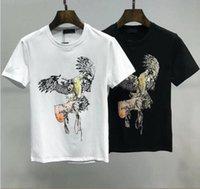 Hommes T-shirts Menseurs Designers Men S T-shirt Hip Hop Hop Hop T-shirt