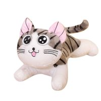 Good Quality 6 Styles Cat Chi Chi's Cat Cheese Cat Pillow for Stuffed Doll Soft Plush Kid Toy Gift G0913