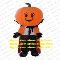 Pumpkin King Cushaw Squash Calabaza Cuaurbit Mascot Costume Adult Cartoon Character Kindergarten Pet Shop Play Games zz7774