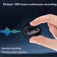 B800 mini digital recorder 20 days 500 hours high-definition noise reduction voice pen holder flashlight clip Professional Manufacture