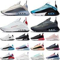 Nike Air MAX 2090 air 2090 احذية الجري الصيفية البلاتينية النقية كن أفضل مصمم أزياء أحذية رياضية ثلاثية أحذية رياضية تنس أبيض أسود وردي وردي