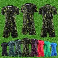 Men's Tracksuits Adult Kit Soccer Mens Teens Club Training Suit Student Sportswear Wholesale Kids Tracksuit Team Shirt
