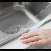 Andere Werkzeuge Klassische wiederverwendbare waschbare Tape Praktische Multifunktionale langlebige Küche Transparent Badezimmerklebstoff-trazellose Bänder CLA TXJSR