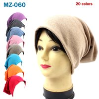 Candy Colored Pullover Caps Sports Street Hip Hop Casual Hats Men's and Women's Loose Knitted Cotton Hat