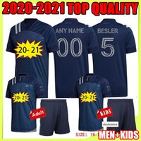 2020 Sporting Kansas City Futebol Jerseys 20 21 MLS Pulido 9 Busio 13 Russell 7 Gerso 12 Kinda 15 Camisas de Futebol Jersey