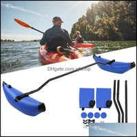 Paddling Water Sports & Outdoorskayak Inflatable Stabilizer Canoe Boat Standing Float Pvc System Gear Outrigger Rafts Inflatable Boats Drop