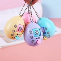 Adivinhar Mini Rock Tesoura Tesoura Jogo Fair Toy Showdown Machine Creative Boxing Egg Keychain Pingente de Cápsula Brinquedo