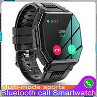 2021 S9 Smart Watch Bluetooth Call Mens Full Touch Sports Fitness Tracker Blood Pressure Heart Rate Smartwatch Music Control