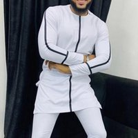 Men's Casual Shirts Dress Fashion Mens Africa Clothing Dashiki Robe Africaine Hip Hop African Clothes (without Pant Only Shirt )