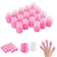 Pink 10PCS/20PCS DIY Wearable Nail Soak Soaker Polish Remover Acrylic Art Tip Fashion