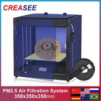 Printers CREASEE PHOENIX Industrial Level 3D Printer Large Core-XY Fully Sealed Glass Kit 350x350x350 3 D Modular Structure