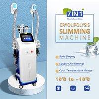 7 IN 1 cryolipolysis fat freezing machine cavitation rf vacumm slim machines lipo lasers equipment