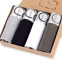 Haute Qualité Marque de luxe Sous-vêtement Boxer Coton Modal Faux Designer Male Boxer Short Sous Wear Plus Taille Grossiste