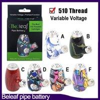 Original Büro Pipe Batterie Smart Vape Pen Patronen Einstellbare Batterie 900mAh Vorwärmen VV VAURABLE Spannung 510 Gewinde E Pfeife 0266320
