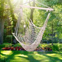야외 해먹 정원 휴대용 매달려 의자 로프 공기 / 하늘의 자 스윙 중공 실내 가구 스윙 베이지