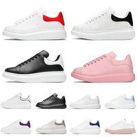 Moda Donna Uomo Luxurys Designer Scarpe ACE Piattaforma in pelle Scarpe casual Bianco Rosso Rosa Nero Suede Flat Sneakers da donna Silver Dream Blue