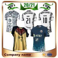 2021 Liga MX Club America Soccer Jerseys 20/21 3.10 # C. C.DDOMINGUEZ 24 # O.Peralta 22 # P.Aguilar Football Hemd Uniform