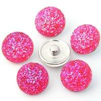 18mm Snap Button Charms Acrylic Ginger Snaps para pulseras de instantánea intercambiables Fabricación de joyería de moda para proveedores WJL2233