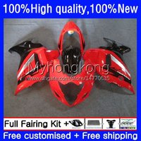 Moto Fairings för Suzuki Katana GSXF 650 GSXF-650 GSX 650F 08-14 Ljusröd 29NO.13 GSX650F 08 09 10 11 12 13 14 GSX-650F GSXF650 2008 2009 2010 2011 2012 2013 2014 Bodys