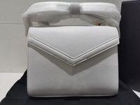 REALFINE888 5A 623930 20 см CASSANDRA MINI TOP ручка Сумка зерна DE POODRE TEBOSED CALFSKIN кожа, с пылезащитной сумкой + коробка