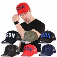 2021 판매 아이콘 망 디자이너 모자 Casquette D2 럭셔리 자수 모자 편지 T690 뒤에 조정 가능한 7 컬러 모자 #