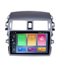 TOOTOTA OLD COROLLA 2007-2010用タッチスクリーン車DVD GPS Navi Stereo Player WiFi音楽USBサポートDAB SWC 9インチAndroid 10
