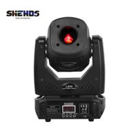SHEHDS LED 80W With 3 Face Prism Moving Head Light 7 Pattern Electronic Focusing Party Bar DJ Disco DMX Stage Effect Lighting