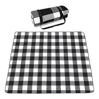 Outdoor Pads Picnic Blanket Large Carpet Mat Waterproof Foldable Camping Tote Light Compact Oversized Rug(200X200cm)