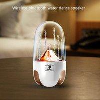 صوت بلوتوث الإبداعية الملونة نافورة المياه الرقص المتكلم مكبرات الصوت المحمولة اللاسلكية