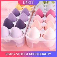 Sponges, Applicators & Cotton 1 4 Pcs Makeup Sponge Dry&Wet Dual Use Cosmetic Puff Beauty Egg Powder Make Up Blender Tool With Storage Box