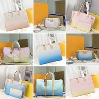 M57640 OntheGo Big Number Bolsas Marcas Mulher Ombro Bag Designers Flores de couro Bolsa Clássico Mulheres Shopping Tote Moda Duffel Bags M45678 M57634