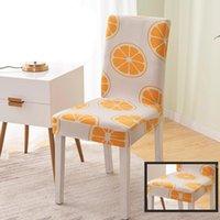 كرسي يغطي دنة الطباعة الغلاف الأغطية القابلة للإزالة مكافحة القذرة مقعد حالة تمتد للآدبات غطاء dha7148