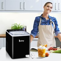 Small Ice Maker Machine For Countertop Household Kitchen Coolers 120V 150W 44lbs 20kg 24h
