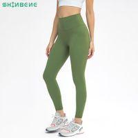Shinbene Hayır Camel Toe Egzersiz Spor Salonu Fitness Tayt Yoga Pantolon Kadın Tereyelik Yumuşak 4 Yollu Sıkı Eğitim Egzersiz Spor Tayt