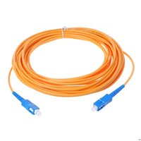 SC / UPC-SC / UPC-SM Câble de cavalier à fibre optique de la fibre optique de la fibre d'extension de la cordon de rallonge de haute qualité