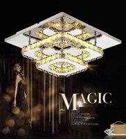 Ceiling Lights The Modern Minimalist LED Square Entrance Hallway Crystal Living Room Bedroom Lamps Lighting Fixture