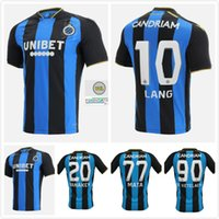 Club Brugge 21-22 Home Fútbol Jersey 2021 2022 KossoOou Mata De Ketelaere Lang Vaken Football Shirts Tailandia Calidad