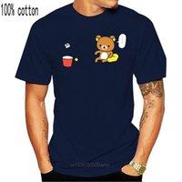 Men's T-Shirts ANIME Rilakkuma The Bear BAD IDEAS Tops Tee T Shirt NWT 100% Authentic Licensed T-Shirt Custom Screen Printed