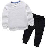 Bebek Giyim Setleri 2-11 Yıl Çocuk Konfeksiyon Sonbahar Ve Kış Desen Erkek Kız Kazak Takım Elbise Çocuk Ceket Giyim Coatsets 978 V2