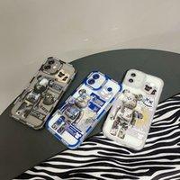 مصمم أزياء فون 11 حالات الهاتف أنيمي العنف الدب المطبوعة واقية حالة الهاتف ل iPhone SE 7/8 زائد X / XS XR 12 برو ماكس ميني
