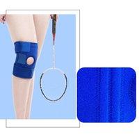 Açık Spor Diz Koruyucu Spor Bacak Muhafızları Erkek Kadın Için Streç Kol Desteği (Mavi Ücretsiz Boyut) Dirsek Pedleri