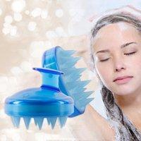 Massage Brush Silicone Head Body Massager Shampoo Scalp Massage Brush Hair Washing Comb Body Shower Brush Bath