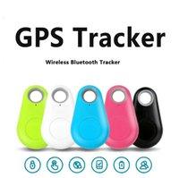 Mini Smart Wireless Bluetooth Tracker Automobile Auto Bambino Bambino Perstifili Chiave Finder GPS Localizzatore Anti-Lost Allarme Promemoria per telefoni