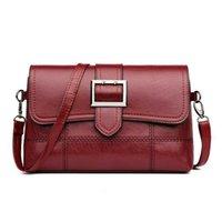 Märke Designer Women Shoulder Bag Fashion Handväska och handväska PU Läder Crossbody Väskor för 2021 Svart Amp Zzhouzhoubao123