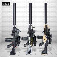 M416 Elettrico Automatico fucile Acqua Bullet Bb Bb Bomb Gel Sniper Giocattolo Pistola Pistol Plastica Arma Modello per ragazzi Bambini Adulti Ripresa regalo