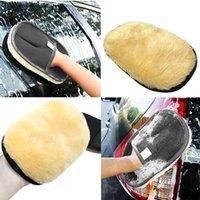 Cuidados de carro escovas de limpeza polimento mimbrescuss super limpo lã lavagem escova escova motocicleta lava esponja