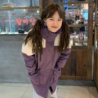 Women's Wool & Blends 2021 The Japan And Korea Winter Jacket Style Patchwork Loose Long Woman Parkas Coat Thicken Warm Oversized Hooded Oute