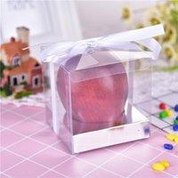 Gift Wrap 50Pieces lot Clear Square Wedding Favor Box PVC Transparent Party Candy Bags Chocolate Boxes 9x9x9cm Caja De Dulces