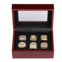 2021 لوس أنجلوس للرجال مخصص مجوهرات بطولة حلقة مجموعة لاعبي كرة السلة المشجعين جمع هدية تذكارية