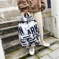 Backpack Hit Color Oxford Unisex School Shoulder Bag Large Capacity Zipper Pack 2021 Outdoor